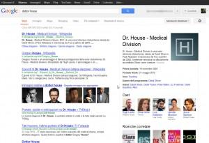 Box informazioni Google